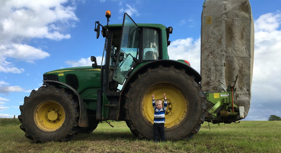 The next generation with the Tractor