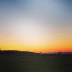 Mossgiel Sunset - red sky at night