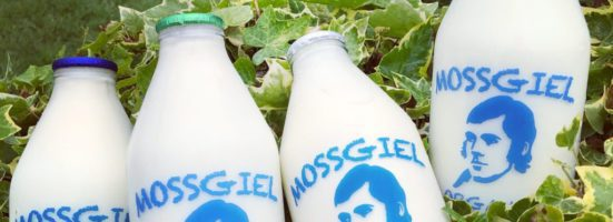 Mossgiel Organic Milk in Glass Bottles